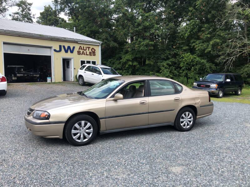2005 Chevrolet Impala for sale at J.W. Auto Sales INC in Flemington NJ