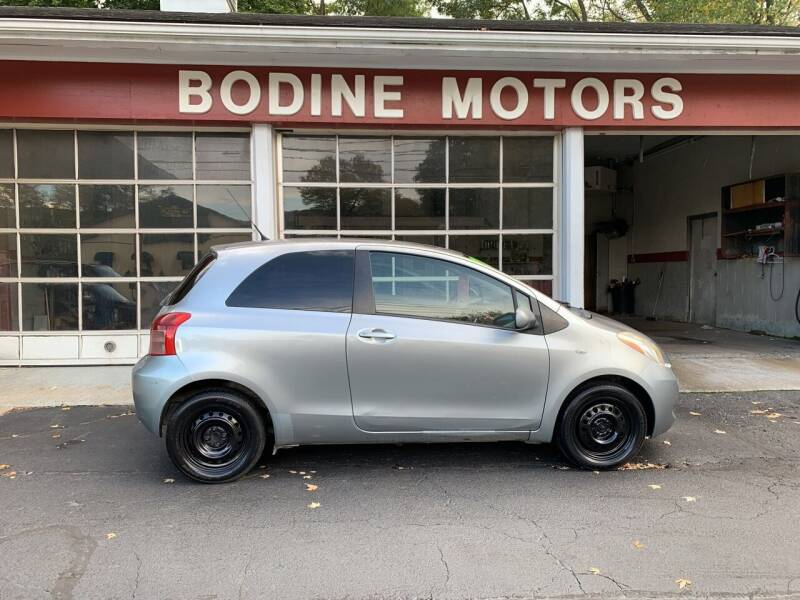 2008 Toyota Yaris for sale at BODINE MOTORS in Waverly NY