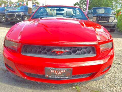 2012 Ford Mustang for sale at Best Cars R Us in Plainfield NJ