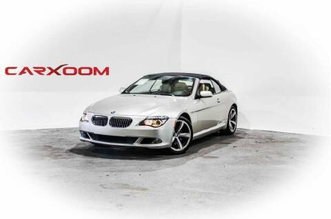 2008 BMW 6 Series for sale at CarXoom in Marietta GA