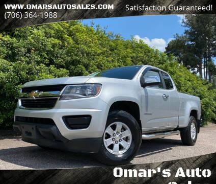 2017 Chevrolet Colorado for sale at Omar's Auto Sales in Martinez GA