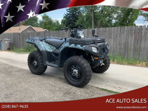 2010 Polaris Sportsman 550 EFI for sale at Ace Auto Sales in Boise ID
