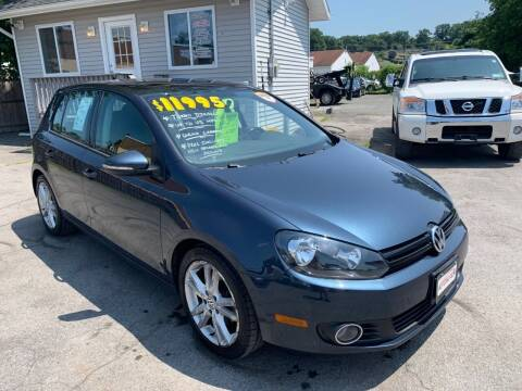2014 Volkswagen Golf for sale at Automotion Auto Sales Inc in Kingston NY