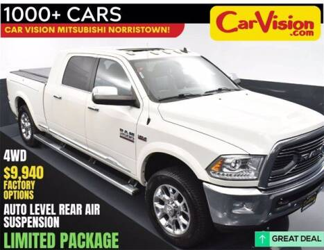 2016 RAM Ram Pickup 2500 for sale at Car Vision Buying Center in Norristown PA
