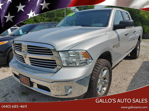 2014 RAM Ram Pickup 1500 for sale at Gallo's Auto Sales in North Bloomfield OH