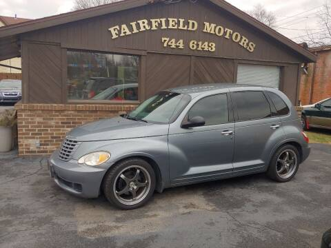 2008 Chrysler PT Cruiser for sale at Fairfield Motors in Fort Wayne IN