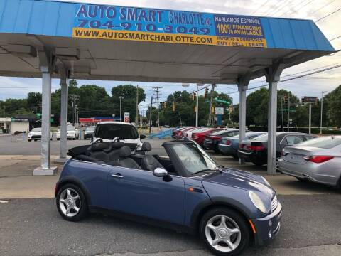 2006 MINI Cooper for sale at Auto Smart Charlotte in Charlotte NC
