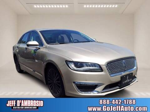 2017 Lincoln MKZ for sale at Jeff D'Ambrosio Auto Group in Downingtown PA