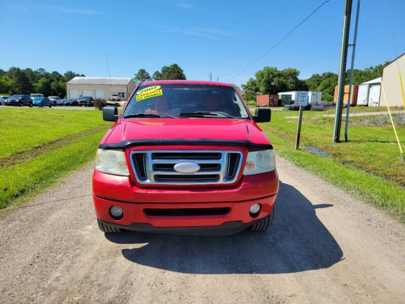 2007 Ford F-150 for sale at Auto Guarantee, LLC in Eunice LA