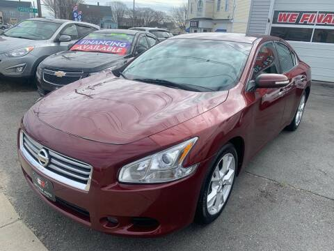 2012 Nissan Maxima for sale at Better Auto in South Darthmouth MA