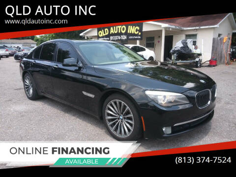 2009 BMW 7 Series for sale at QLD AUTO INC in Tampa FL