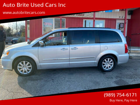 2011 Chrysler Town and Country for sale at Auto Brite Used Cars Inc in Saginaw MI