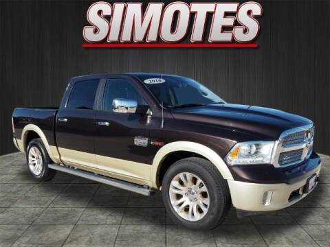 2016 RAM Ram Pickup 1500 for sale at SIMOTES MOTORS in Minooka IL