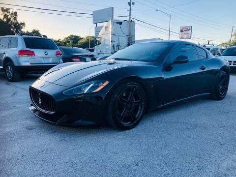 2013 Maserati GranTurismo for sale at ONYX AUTOMOTIVE, LLC in Largo FL