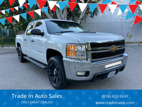 2012 Chevrolet Silverado 1500 for sale at Trade In Auto Sales in Van Nuys CA