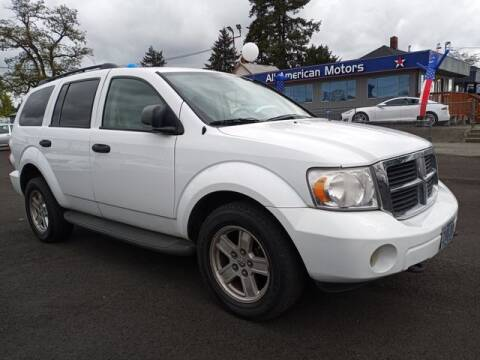 2009 Dodge Durango for sale at All American Motors in Tacoma WA
