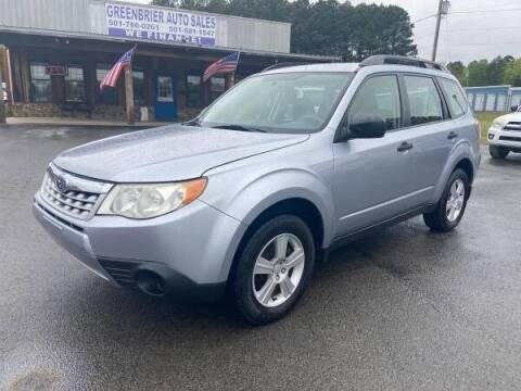 2013 Subaru Forester for sale at Greenbrier Auto Sales in Greenbrier AR
