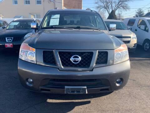 2012 Nissan Armada for sale at Park Avenue Auto Lot Inc in Linden NJ