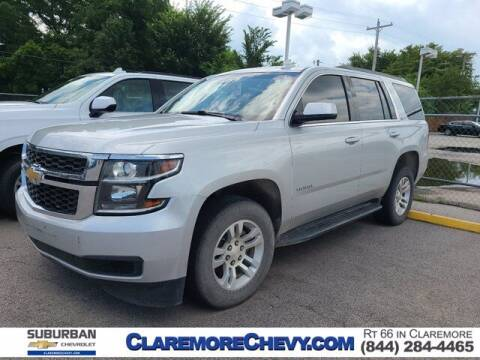 2018 Chevrolet Tahoe for sale at Suburban Chevrolet in Claremore OK
