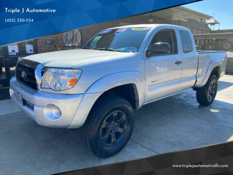 2008 Toyota Tacoma for sale at Triple J Automotive in Erwin TN