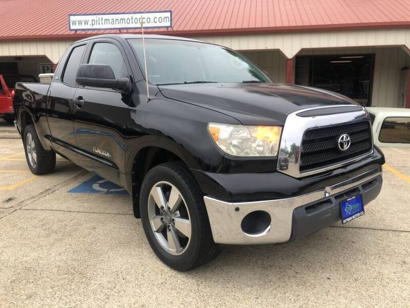 2007 Toyota Tundra for sale at PITTMAN MOTOR CO in Lindale TX