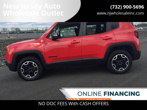 2016 Jeep Renegade for sale at New Jersey Auto Wholesale Outlet in Union Beach NJ