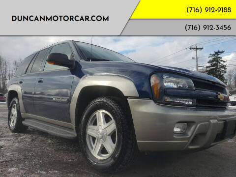 2003 Chevrolet TrailBlazer for sale at DuncanMotorcar.com in Buffalo NY