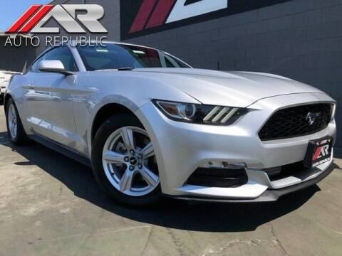 2016 Ford Mustang for sale at Auto Republic Fullerton in Fullerton CA