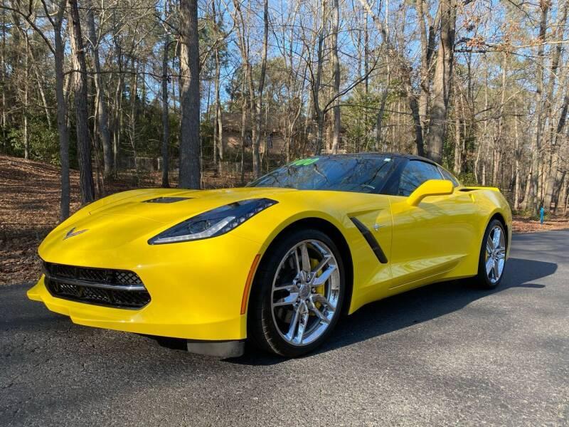 2017 Chevrolet Corvette for sale at US 1 Auto Sales in Graniteville SC