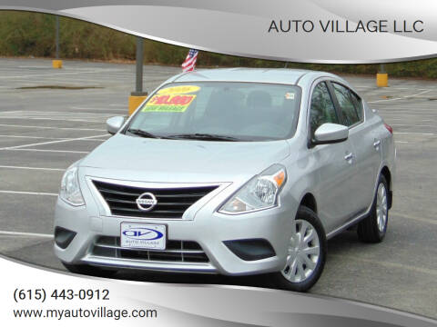 2016 Nissan Versa for sale at AUTO VILLAGE LLC in Lebanon TN