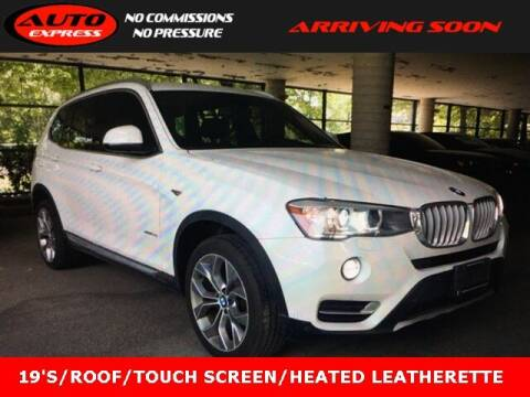 2017 BMW X3 for sale at Auto Express in Lafayette IN
