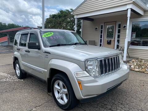 2008 Jeep Liberty for sale at G & G Auto Sales in Steubenville OH