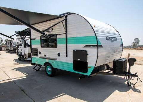 2021 Sunset Park RV Sun Lite Classic 16BH for sale at GQC AUTO SALES in San Bernardino CA