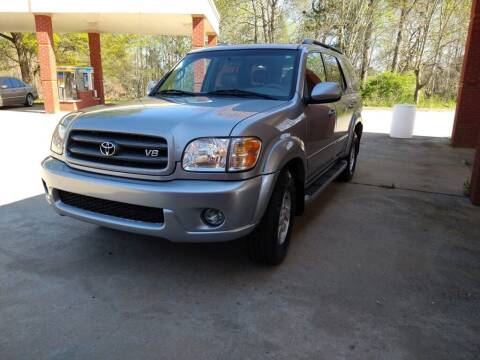 2003 Toyota Sequoia for sale at A&Q Auto Sales in Gainesville GA