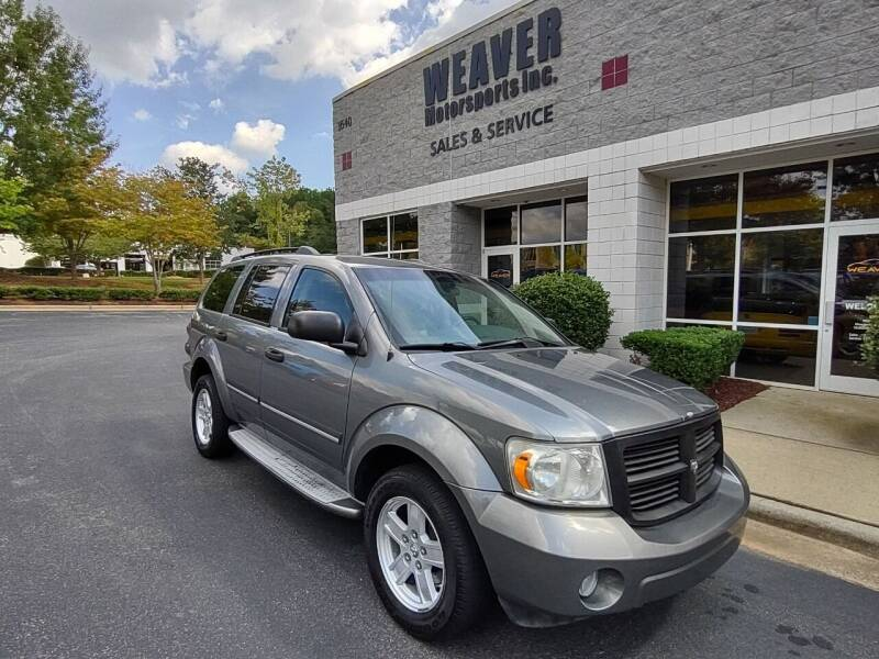 2007 Dodge Durango for sale at Weaver Motorsports Inc in Cary NC