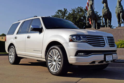 2016 Lincoln Navigator for sale at European Motor Cars LTD in Fort Worth TX