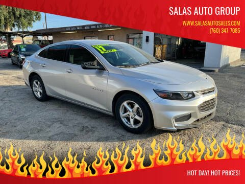 2017 Chevrolet Malibu for sale at Salas Auto Group in Indio CA