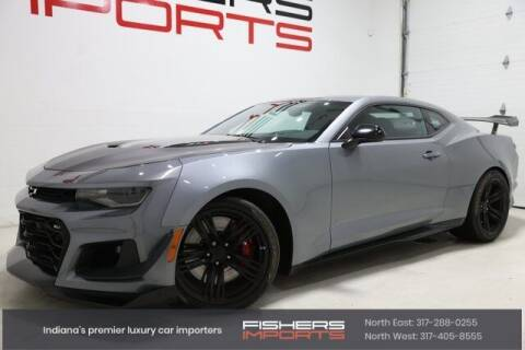2019 Chevrolet Camaro for sale at Fishers Imports in Fishers IN
