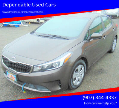 2017 Kia Forte for sale at Dependable Used Cars in Anchorage AK