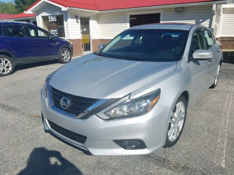 2016 Nissan Altima for sale at Rocky Mount Motors in Battleboro NC