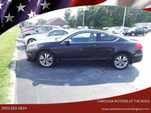 2011 Honda Accord for sale at Carolina Motors at the Rock in Rockingham NC