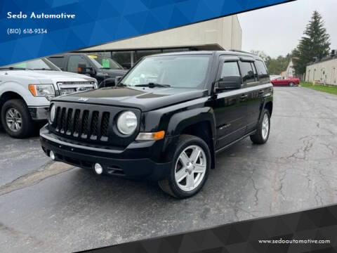 2012 Jeep Patriot for sale at Sedo Automotive in Davison MI