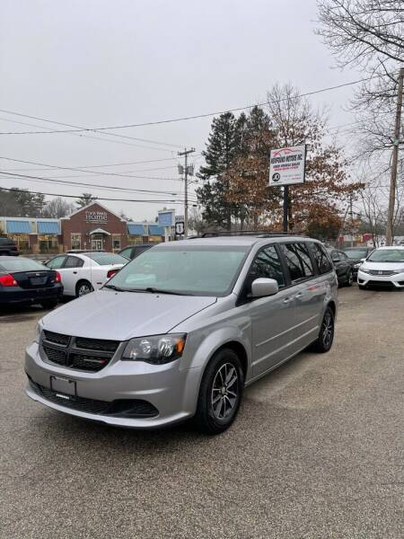 2016 Dodge Grand Caravan for sale at NEWFOUND MOTORS INC in Seabrook NH