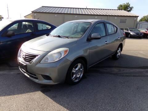 2012 Nissan Versa for sale at Creech Auto Sales in Garner NC