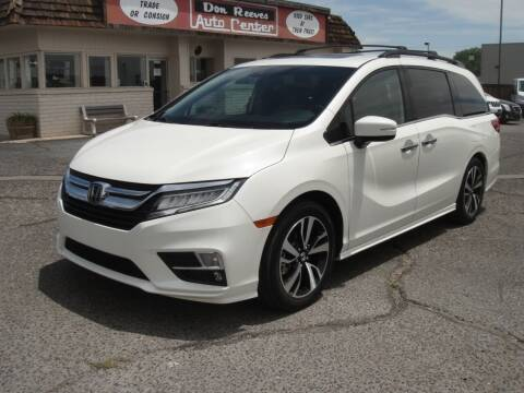 2018 Honda Odyssey for sale at Don Reeves Auto Center in Farmington NM