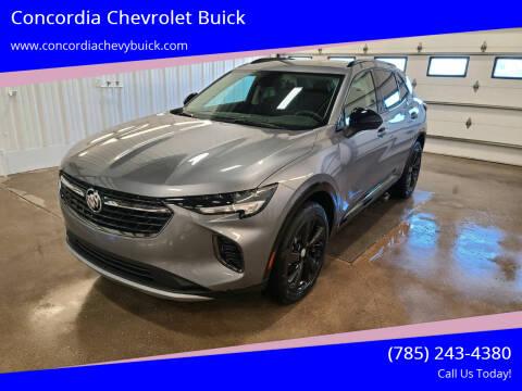 2021 Buick Envision for sale at Concordia Chevrolet Buick in Concordia KS
