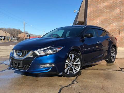 2016 Nissan Maxima for sale at Effect Auto Center in Omaha NE