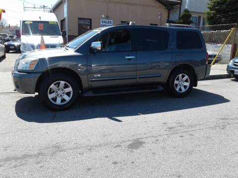 2007 Nissan Armada for sale at Nelsons Auto Specialists in New Bedford MA