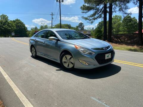 2015 Hyundai Sonata Hybrid for sale at THE AUTO FINDERS in Durham NC