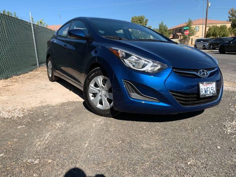 2016 Hyundai Elantra for sale at Boktor Motors in Las Vegas NV